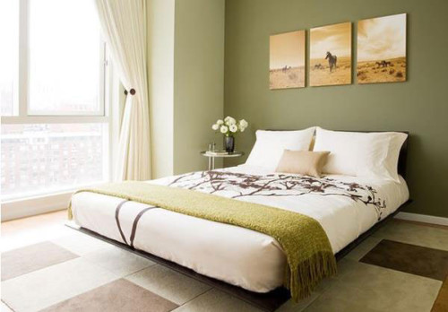 Выбираем цветовую гамму для спальни и кухни