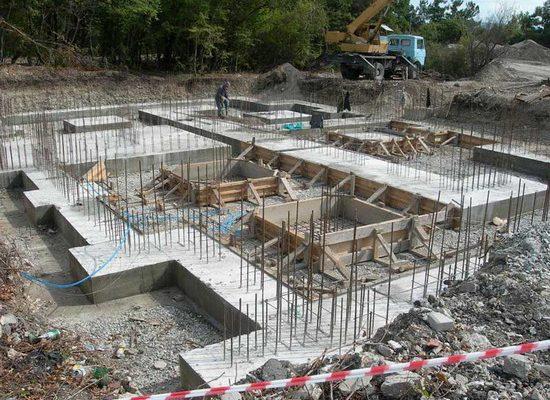 Выбор вида фундамента при строительстве дома