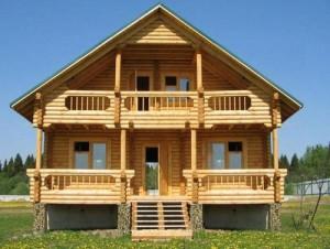 Деревянный терем – великолепный вариант дома