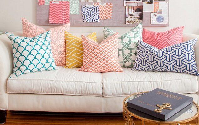 Как выбрать декоративные подушки для оформления квартиры