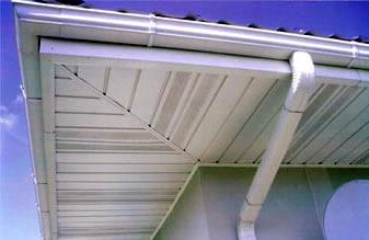 Карнизы и софиты для крыши