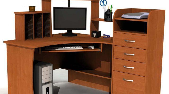 Конструкция и размеры полки для клавиатуры