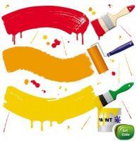 Краски и эмали для внутренних и наружных работ