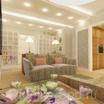 Дизайн-проект трёхкомнатной квартиры 105 кв.м.