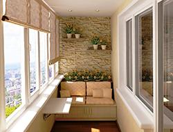 Идеи на балкон 50