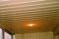 Как обшить потолок пластиковыми панелями самостоятельно