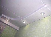 Как подшить потолок гипсокартонном своими руками