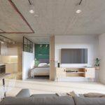 Комфортная квартира, которая разрушает стереотипы об индустриальном стиле