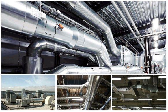 Монтаж бытовой и промышленной вентиляции