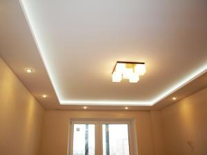Потолок подвесной или натяжной