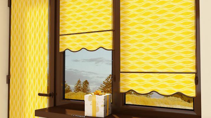 Рулонные шторы и их использование