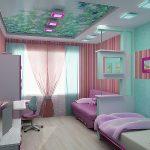 Оформление детской комнаты: интересные решения