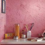 Декоративная отделка стен красками