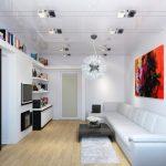 Как визуально увеличить пространство маленькой гостинной комнаты