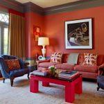 Красный цвет в интерьере: сочетания со вкусом