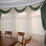 Как выбрать длинные шторы для разных комнат