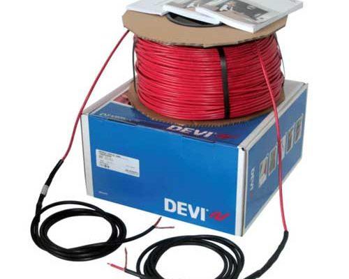 Купить нагревательный кабель DEVIbasig 20S