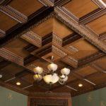 Деревянные кессонные потолки