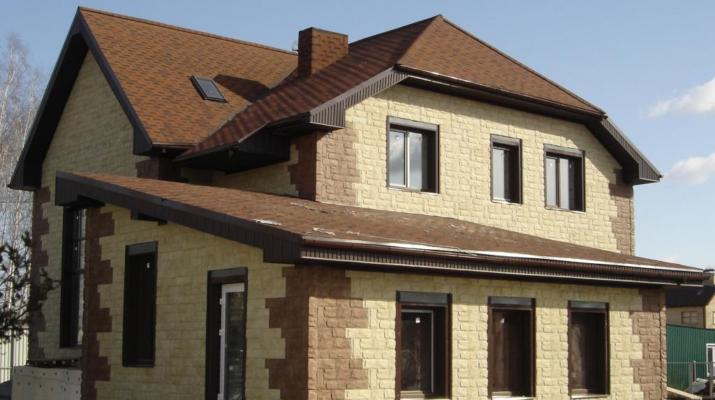 Что нужно знать об использовании плитки из известняка для облицовки частного дома