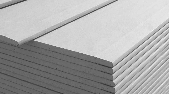Свойства и основные типы гипсокартонных листов