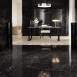 Черная плитка: эпатажный интерьер. Продажа облицовки в Краснодаре от интернет-магазина «КерамТрейд»