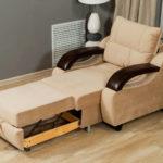 Кресло-кровать: сочетание компактности и комфортности